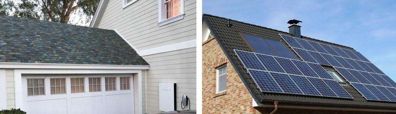 Tesla Solar Roofs vs Regular Roofs
