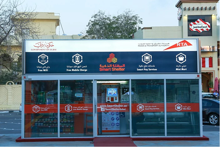 Dubai Smart Bus Shelters