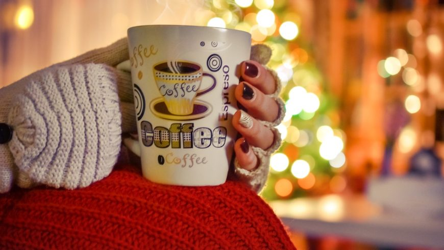 Weekend at home cold winter cofee