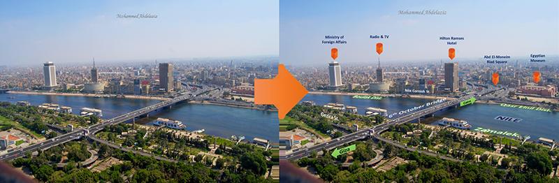 Cairo from A birdeye view