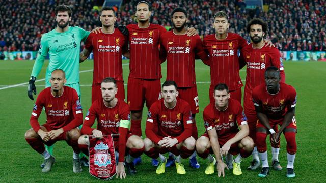 Liverpool FC team squad