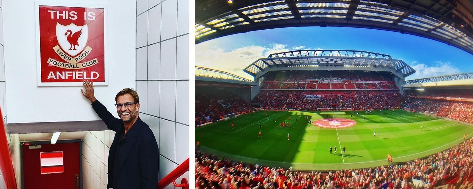 Anfield Liverpool Stadium ground