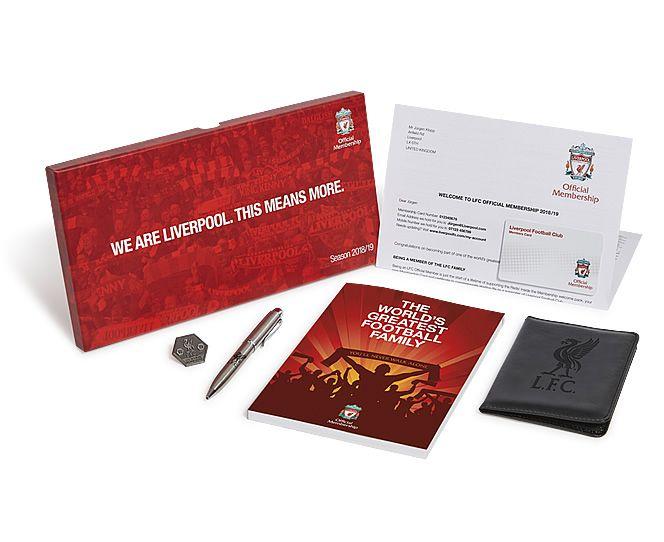 Liverpool FC membership - LFC