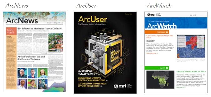 Esri GIS Technology - Free educational Resources - Publications