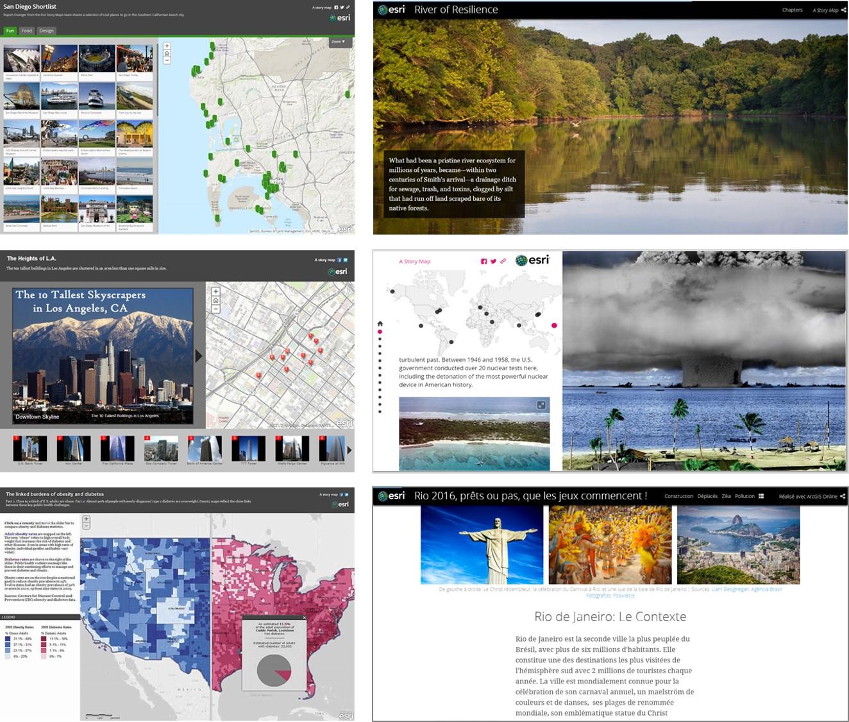Esri Story maps - Story telling
