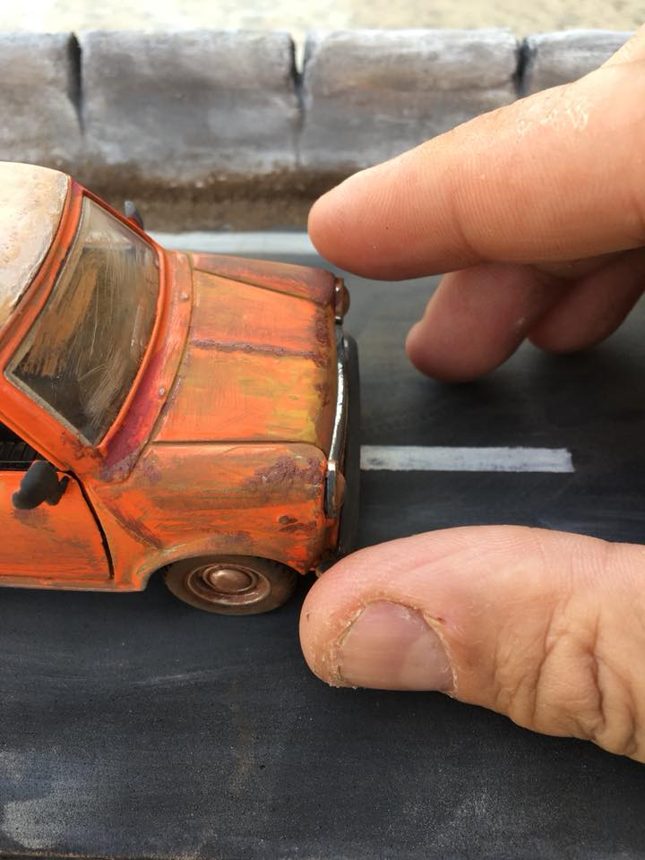 Mohamed Samy - Miniature Art in Egypt - Car