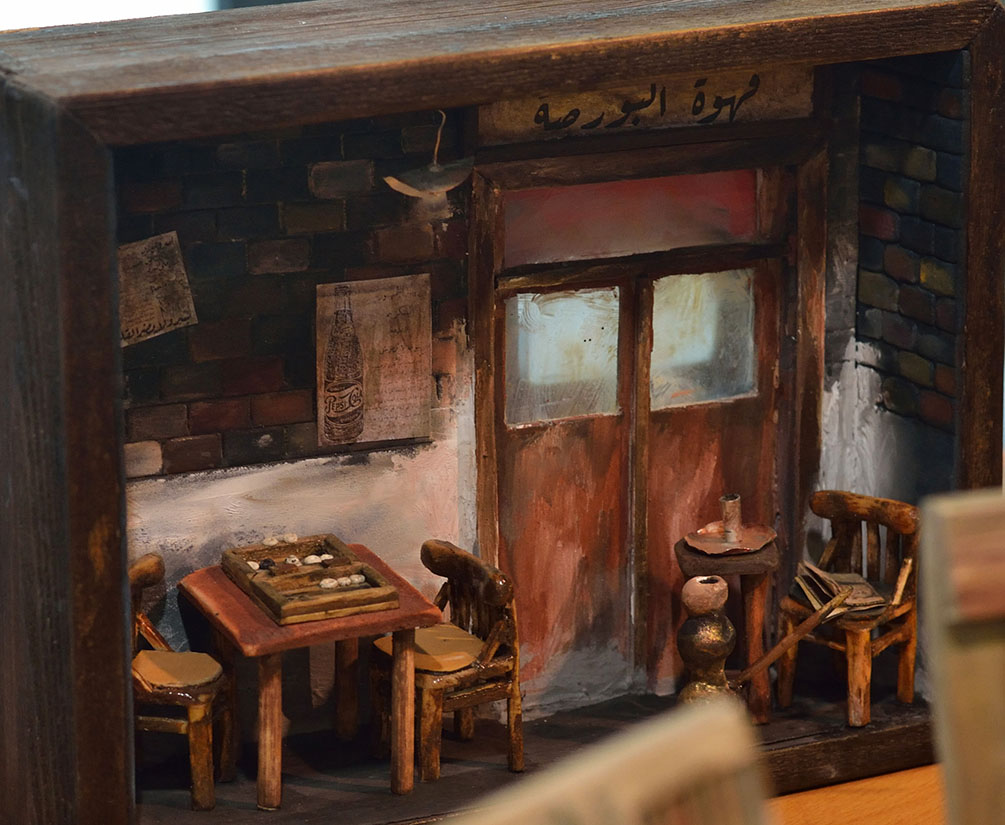 Mohamed Samy - Miniature Art in Egypt - Borsa Cafe