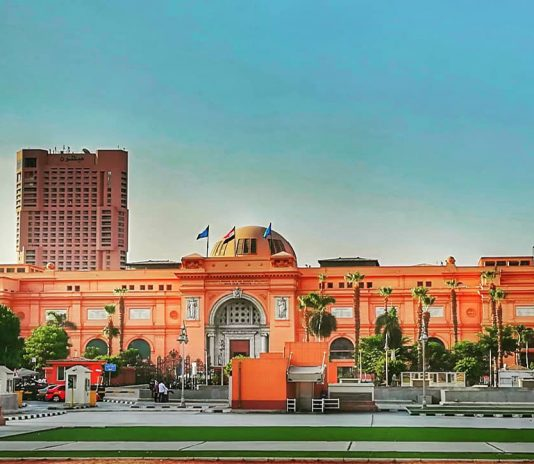 Egyptian Museum - Downtown Cairo Buildings