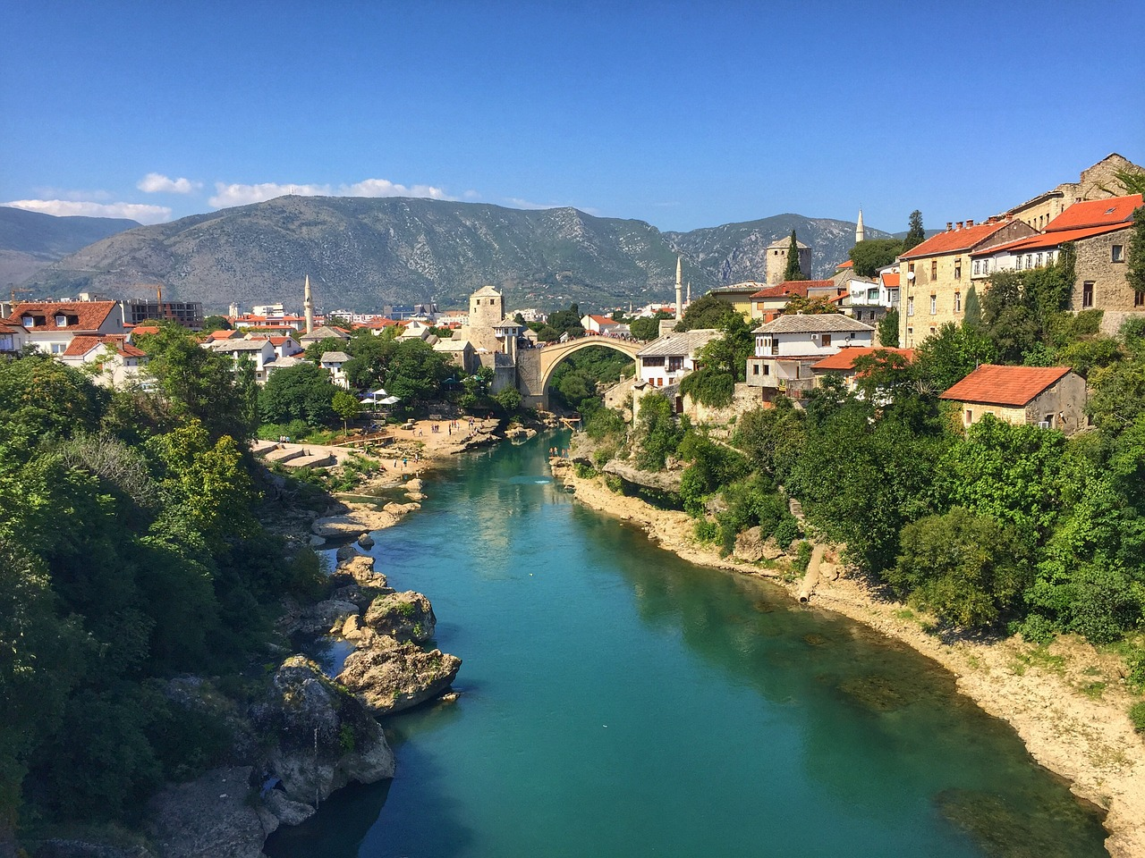 Mostar Bosnia and Herzegovina Travel Destinations Europe