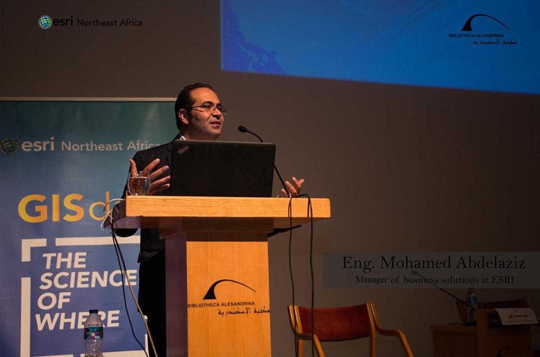 Mohammed Abdelaziz - Esri NeA - GIS Day - Mohamed Abd elaziz