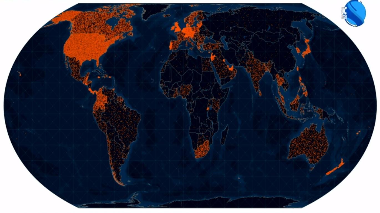 Esri UC 2020 Worldwide virtual attendees