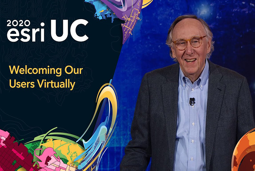 Esri UC 2020 Jack Dangermond Virtual Event