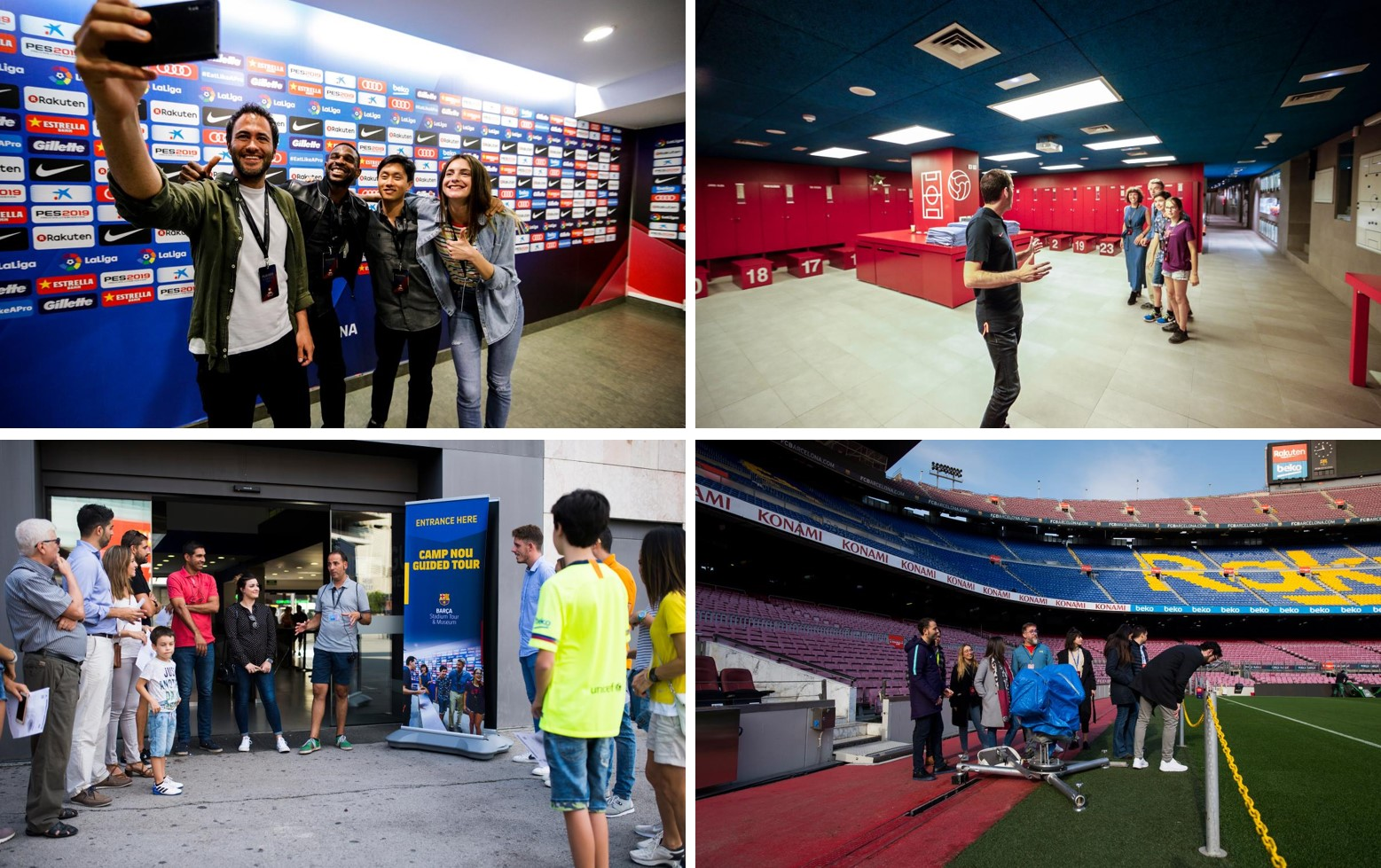 Camp Nou Tours
