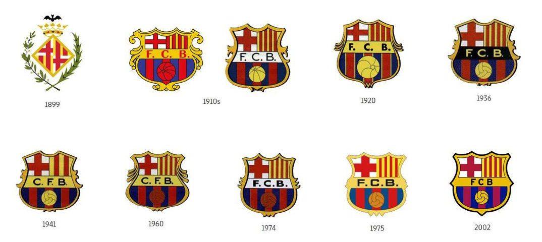 FC Barcelona Logos