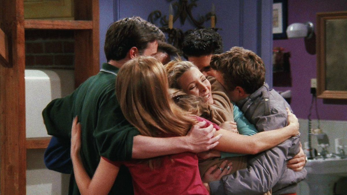 Friends sitcom Series I will be there for you