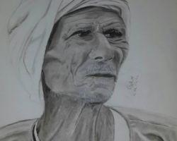The peasant - graphite pencils - 2014