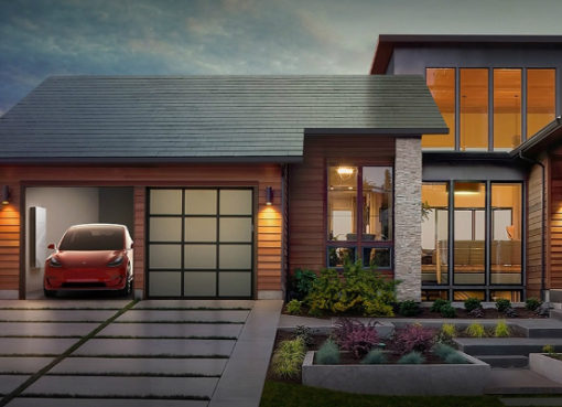 Elcon Musk Tesla Solar Roofs