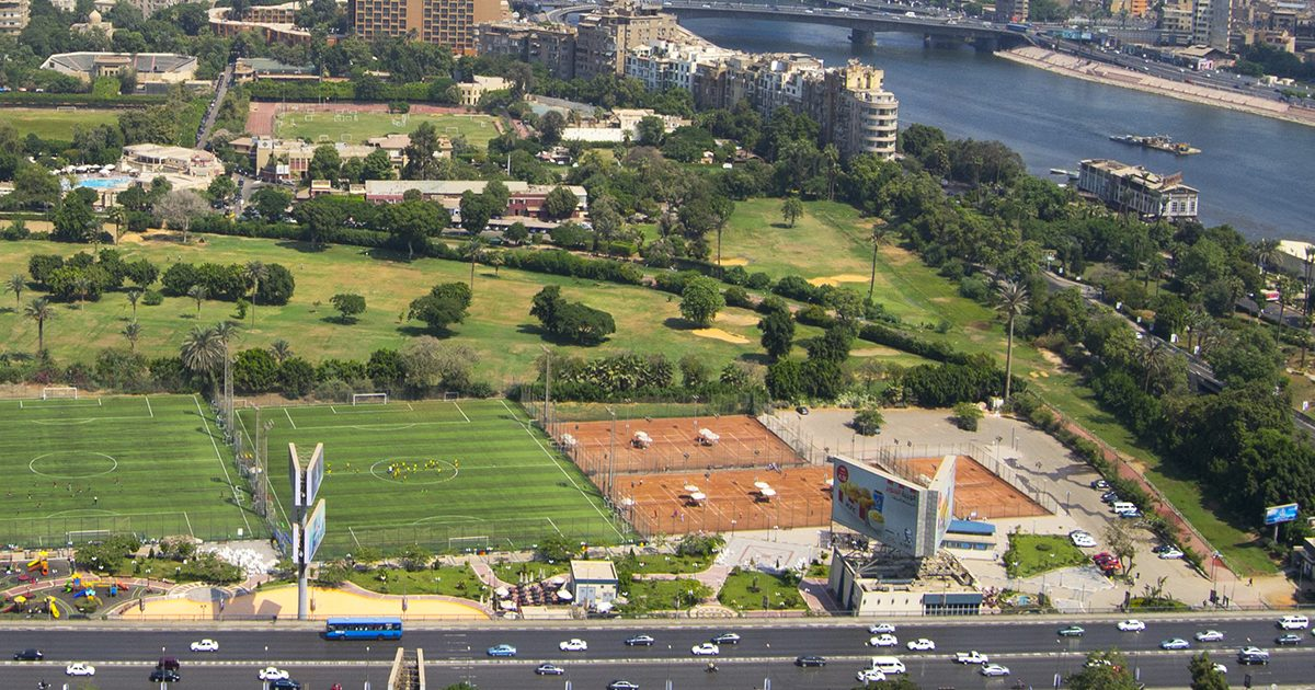 Cairo from Bird's eye View
