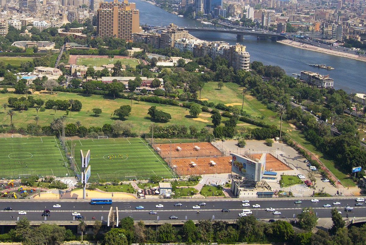 Cairo from Bird's eye View