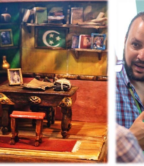 Mohamed Samy - Miniature art in Egypt