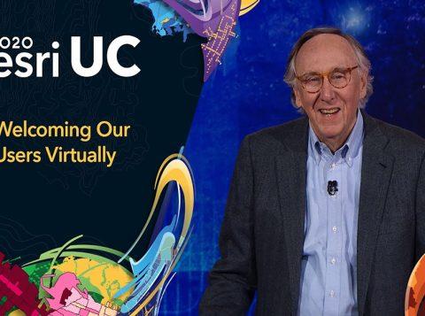 Esri UC 2020 Jack Dangermond Virtual Event