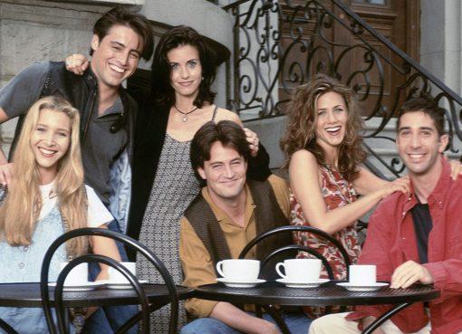 Friends sitcom series comedy