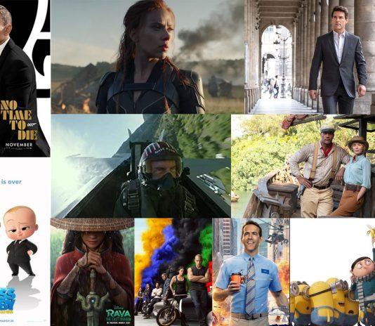 Top ten Movies in 2021